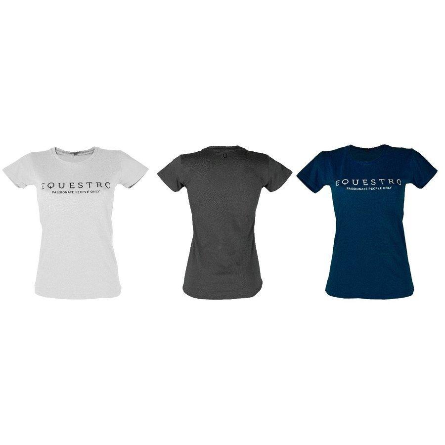 aspetto dettagliato vendita ufficiale l'ultimo T-Shirt Donna Con Stampa Logo Equestro