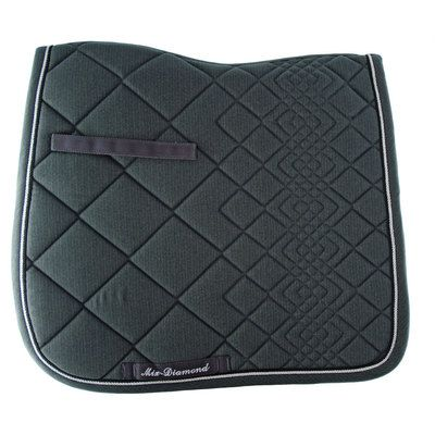 Lami-Cell Sottosella da dressage in cotone sagomato con passamaneria Diamond Collection