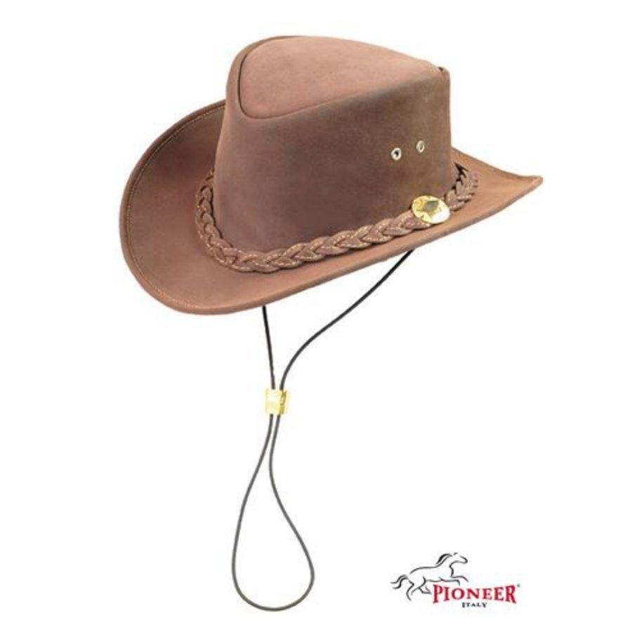 Cappello australiano in crosta ingrassata 0534d2de9f56