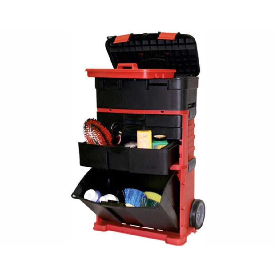 Carrello porta attrezzi molto pratico con grande capienza - Cassetta porta attrezzi stanley con ruote ...