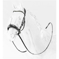 Briglia in Cuoio Leather Bridle With Strass