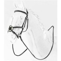 Briglia in Cuoio Leather Crossed Bridle