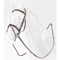 Briglia in Cuoio Removable Flash Noseband Bridle