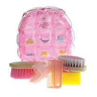 Grooming set completo a zainetto gonfiabile