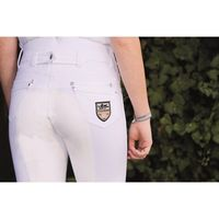 Pantaloni Mrs Blink white