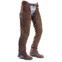 Chaps in pelle scamosciata