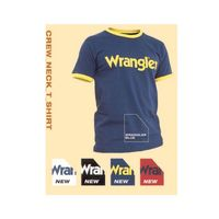 T-shirt wrangler con stampa