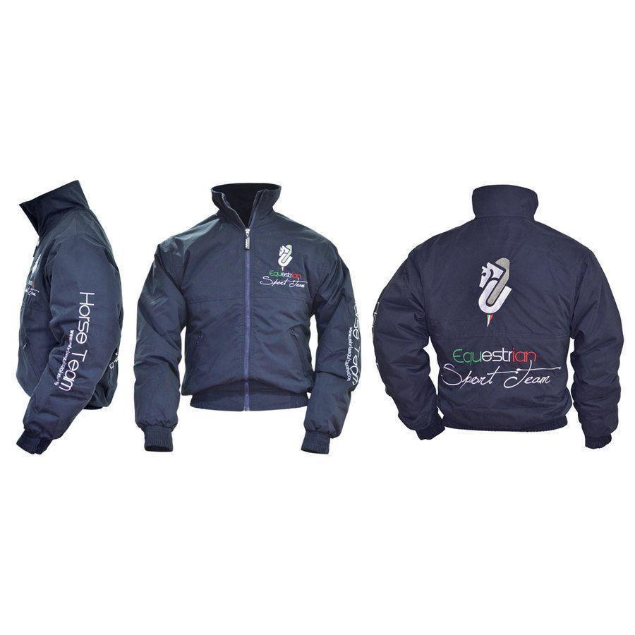 8e97773c7184d1 Bomber umbria sport team - Giubbotti e giacche equitazione | La ...