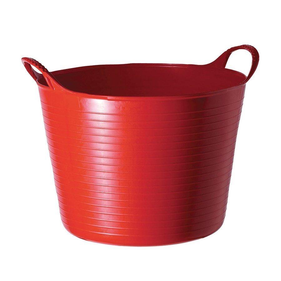 Secchio in plastica flessibile con manici abbeveratoi for Plastica riciclata prezzo