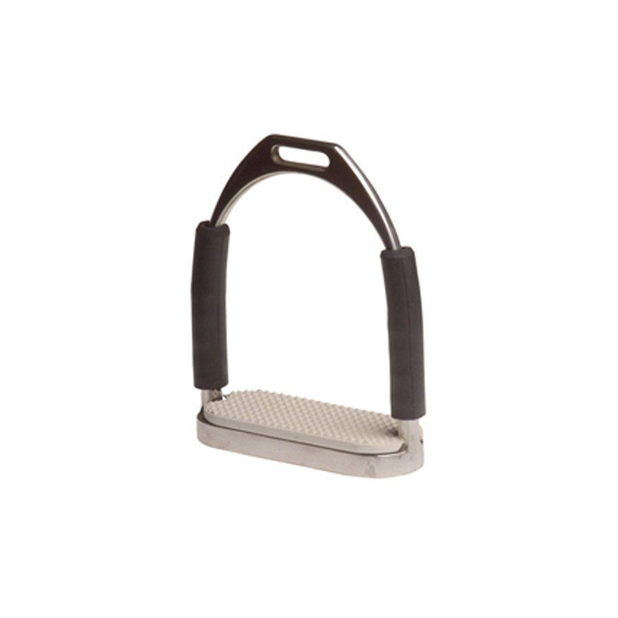 Staffe in acciaio inox snodate e complete di pedane in gomma - Staffe e Accessori  La Selleria ...